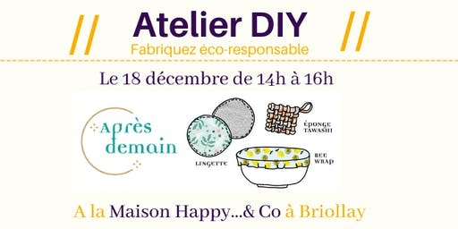 Atelier DIY : Mes indispensables !