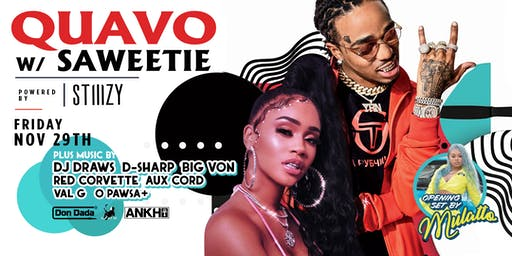 SAWEETIE & QUAVO @ MIDWAY in SF!