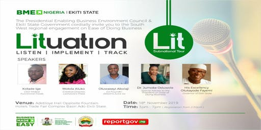 PEBEC: L.I.T South West Sub-national Tour in Ekiti State.