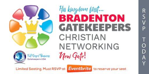 Gatekeepers - Christian Business Network Meeting (Bradenton) 12/11/19