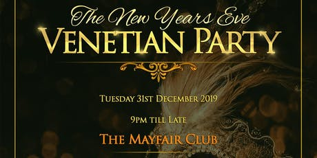 Mayfair Club New Years Eve Tickets 2019 - 2020 tickets