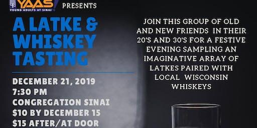 YAAS Latkes and Whiskeys