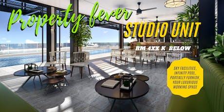 New Launch Studio unit below RM 4xxK tickets