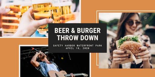 Beer & Burger Throw Down