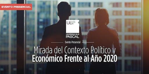 Conferencia: Mirada del contexto político y económico frente al año 2020