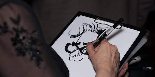 FREE: Festive Caricatures at SFG Club, Roof East!