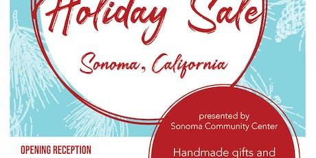 Fine Craft & Art Holiday Sale - Sonoma, CA tickets