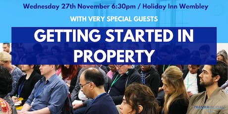Getting Started in Property: How to Get It Right First Time tickets