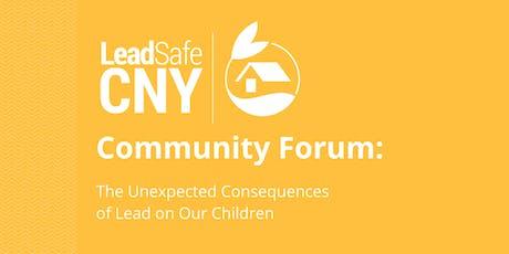 LeadSafeCNY Community Forum 2019 tickets