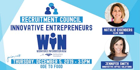 Recruitment Council: Innovative Entrepreneurs tickets