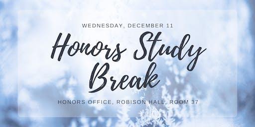 Honors Study Break