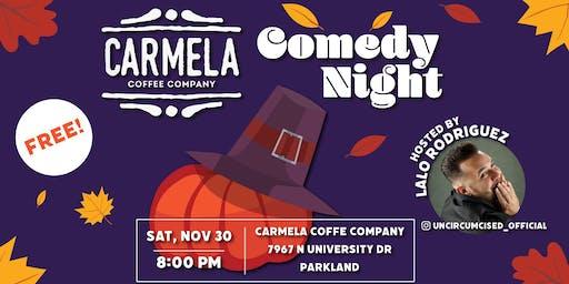 Stand Up Comedy Show   Perry Sak   Carmela Coffee   Parkland