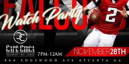 Saints and Falcons Watch Party!!!