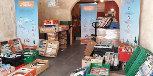 Bordeaux : Remplis ton sac de livres pour 5 €