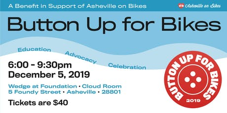Button Up for Asheville on Bikes tickets