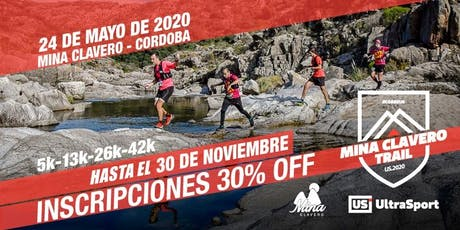 MINA CLAVERO TRAIL 2020 entradas