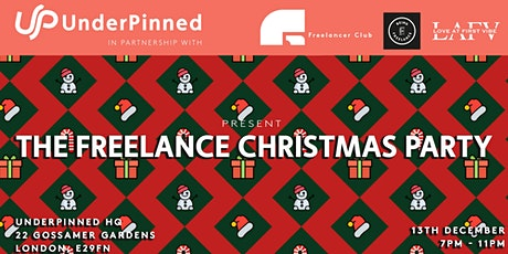 UnderPinned Presents: The Freelance Christmas Party tickets