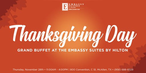 Thanksgiving Day Grand Buffet