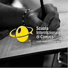 SCUOLA INTERNAZIONALE DI COMICS Napoli logo