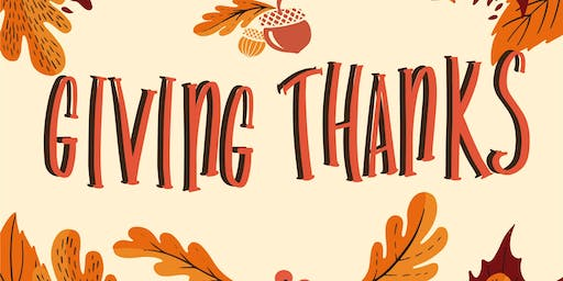 Giving Thanks Event