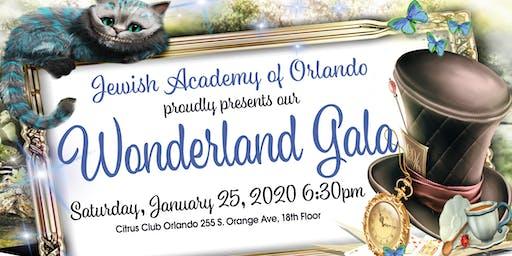 Jewish Academy of Orlando's Wonderland Gala
