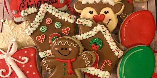 Parent & Child Christmas Sugar Cookie Decorating C