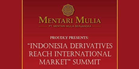 Grand Indonesian financial industry launch ceremony tickets