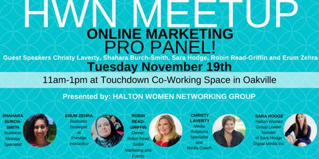 HALTON WOMEN NETWORKING - November MEETUP  tickets