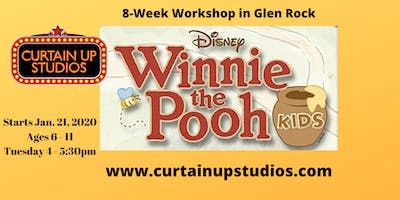 Winnie the Pooh 8-Week Workshop Registration in Glen Rock