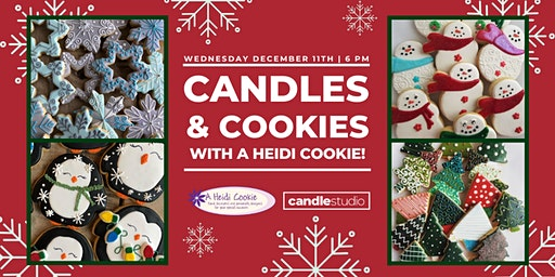 Candles & Cookies by A Heidi Cookie!