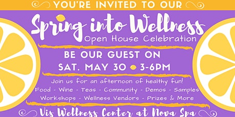 Spring into Wellness! Open House Celebration 2020 tickets
