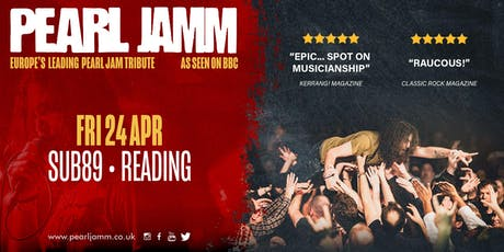 Pearl Jamm live at Sub89 tickets