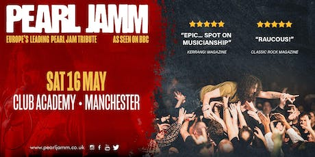 Pearl Jamm live at Manchester Academy (+ Support) tickets
