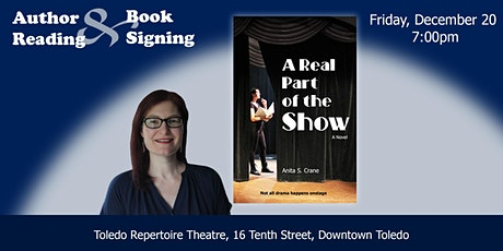 """Author Reading and Book Signing for """"A Real Part of the Show"""" tickets"""