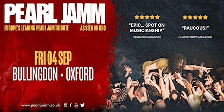 Pearl Jamm live at The Bullingdon tickets
