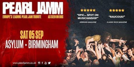 Pearl Jamm live at Asylum 2 tickets