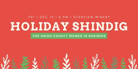 Union Co. Women in Business Holiday Shindig! tickets