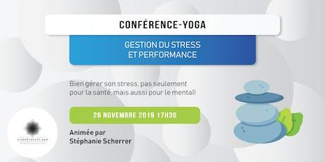 Yoga & Gestion de Stress billets