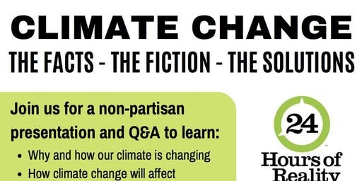 Climate Change: The Facts. The Fiction. The Solutions.