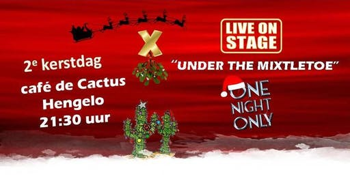 Under the Mixtletoe, op 2e Kerstdag in De Cactus. One Night Only!