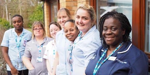 Milton Keynes Diggory Nursing Strategy event