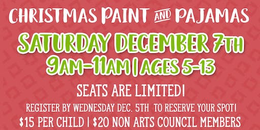 Christmas Paint & Pajamas
