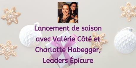 Lancement Épicure avec Valérie et Charlotte | Saison 1 | 2020 | Québec billets