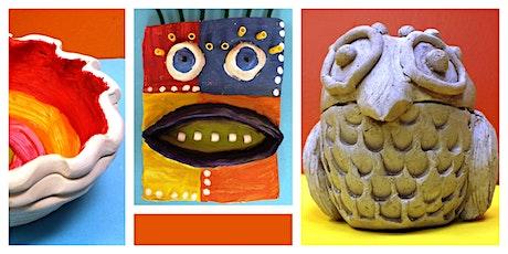 Ooey Gooey Clay Creations Homeschool Weekly Class (5-12 Years) tickets