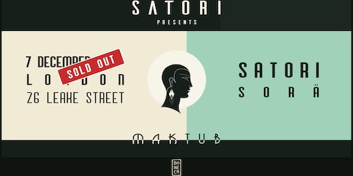 Satori presents Maktub (SATURDAY) - SOLD OUT