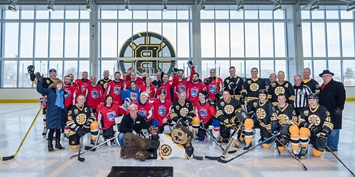 Dana-Farber Rink Rats vs. Boston Bruins Alumni