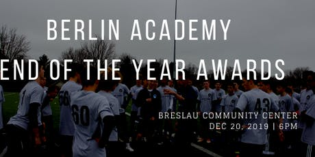 2nd Annual Berlin Academy End of the Year Awards Banquet tickets