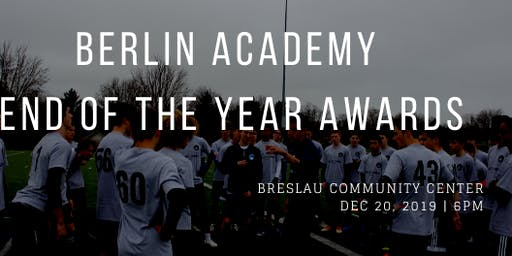 2nd Annual Berlin Academy End of the Year Awards Banquet