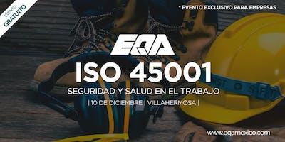 Meet Up ISO 45001:2018 -  Seguridad y Salud en el Trabajo