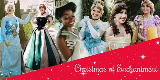 """Christmas of Enchantment"" with Princesses @ The Kentucky Castle"